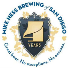 Mike Hess Brewing - 4th Anniversary