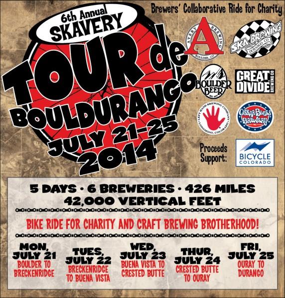 Ska Brewing Avery Brewing - BoulDurango Ride 2014