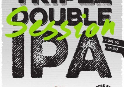BarrelHouse Brewing / Green Flash - Triple Double Session IPA