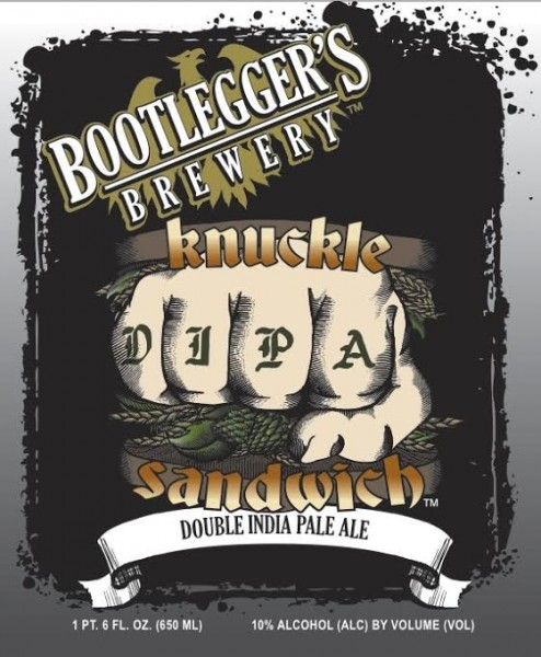 Bootlegger's Brewing - Knuckle Sandwich DIPA
