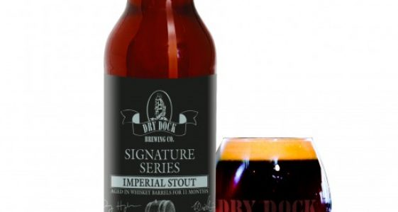 Dry Dock Brewing - Signature Series Imperial Stout (bottle)