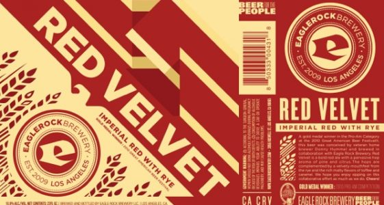 Eagle Rock Brewing Red Velvet