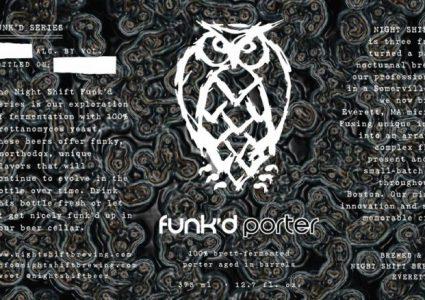 Night Shift Brewing - Funk'd Porter