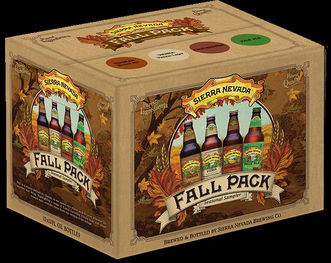 Sierra Nevada Fall Variety Pack