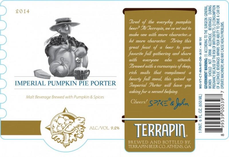 Terrapin Beer - Imperial Pumpkin Pie Porter