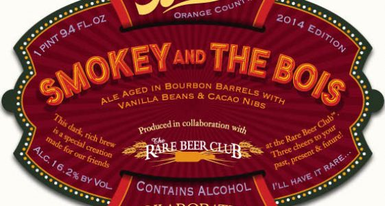 The Bruery Smokey and The Bois