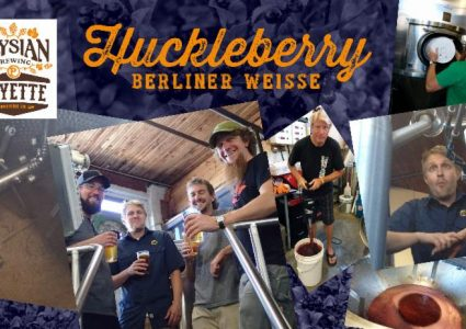 Elysian Brewing / Payette Brewing Huckleberry Berliner Weisse