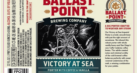 Ballast Point Victory at Sea 2014