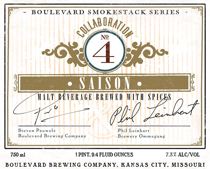 Boulevard Brewing - Brewery Ommegang - Collaboration No.4