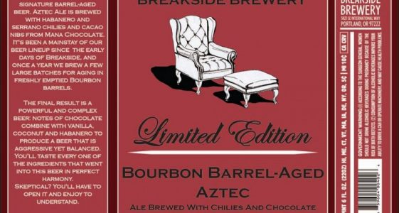 Breakside Bourbon Barrel-Aged Aztec