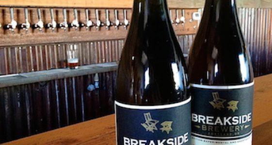 Breakside Funky Wild Beer Bottles