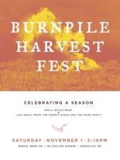 Burnpile Harvest Fest