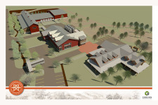 Breckenridge Brewery $35 Million brewery and Farmhouse restaurant rendering