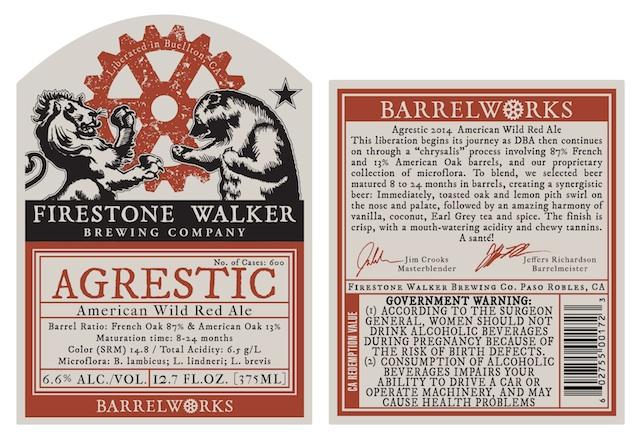Firestone Walker BarrelWorks Agrestic