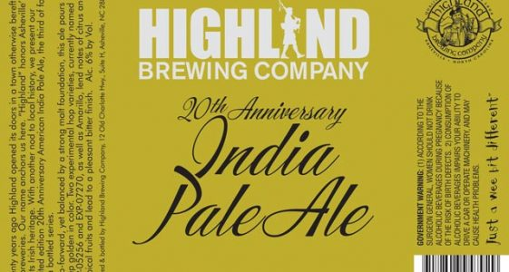 Highland 20th Anniversary IPA