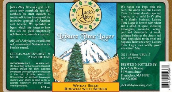 Jacks Abby Leisure Time Lager