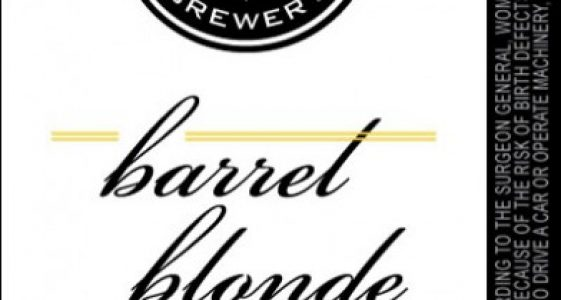 River North Brewery - Barrel Blonde