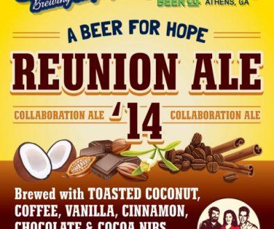 Shmaltz Brewing / Terrapin Beer - Reunion Ale '14