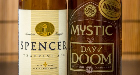 Spencer Trappist Ale and Mystic's Day of Doom - small
