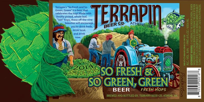 Terrapin Beer Co. - 2014 So Fresh & So, Green Green
