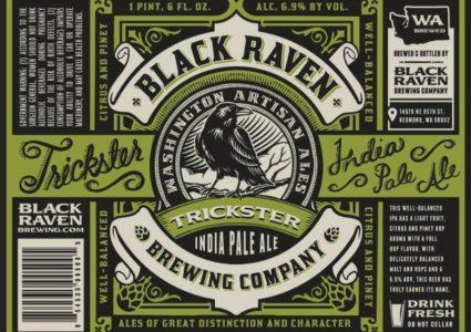 Black Raven Brewing - Trickster IPA