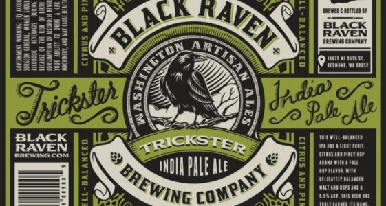 Black Raven Brewing - Trickster IPA