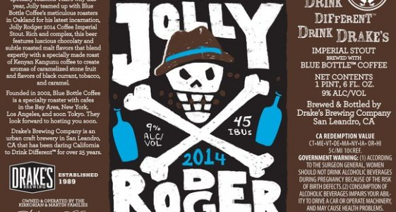 Drakes Jolly Rodger 2014