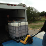 Transporting wort from Live Oak to Jester King