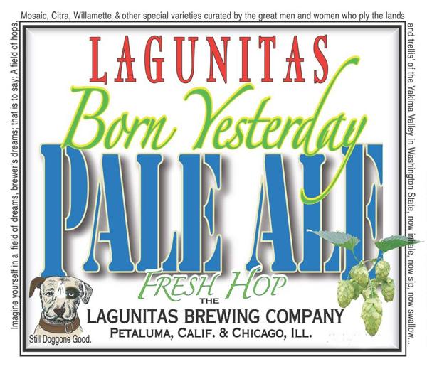 Laguntias Born Yesterday Label