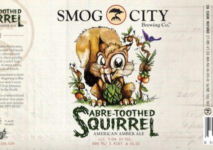 Smog City Sabre-Toothed Squirrel
