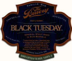 The Bruery Rum Barrel Aged Black Tuesday