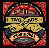 Two Roads Unorthodox Russian Imperial Stout