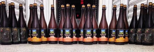 Upland Secret Barrel Society Bottle Shot