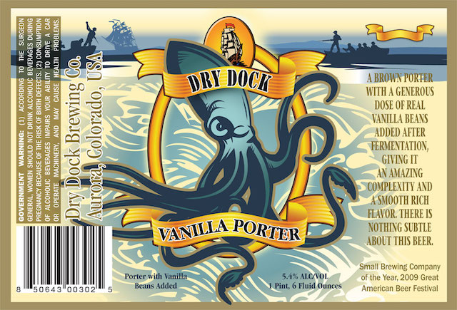 Dry Dock Vanilla Porter