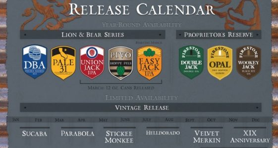 Firestone Walker 2015 schedule