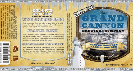 Grand Canyon Winter Bourbon Brown