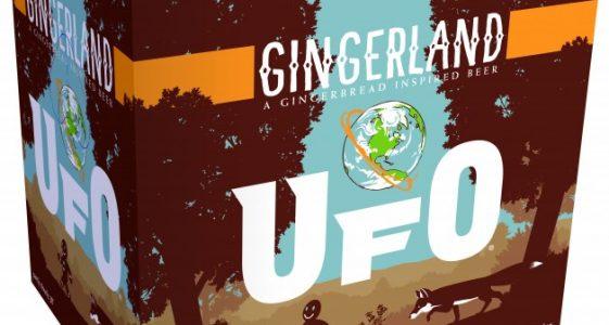 Harpoon Brewery - UFO Gingerland (12pk)