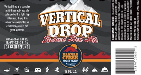 Kannah Creek Brewing - Vertical Drop Robust Red Ale