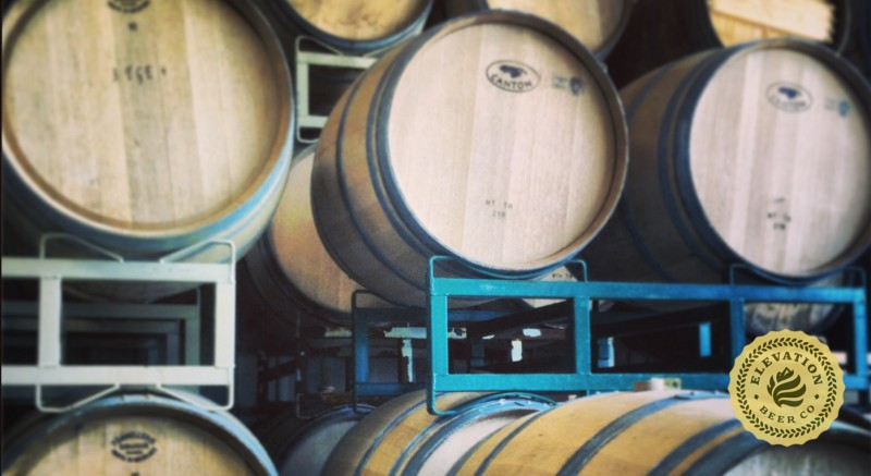Elevation Beer Co Barrels