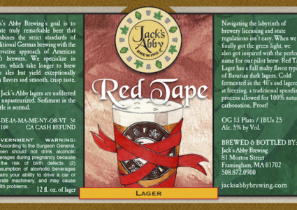 Jacks Abbey Red Tape