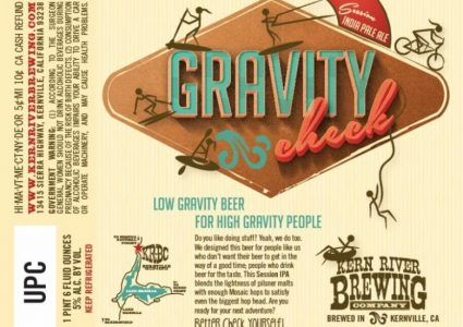 Kern River Gravity Check