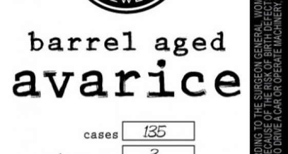 River North Barrel Aged Avarice-2014
