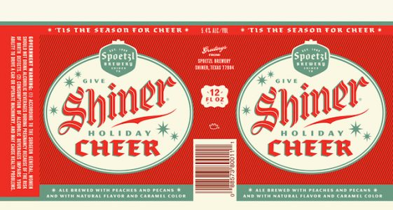 Shiner Cheer Can Label