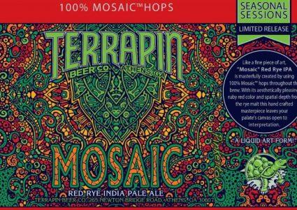 Terrapin Mosaic Red Rye IPA 12 oz Can