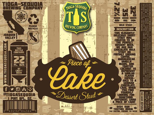 Tioga Sequoia Piece of Cake