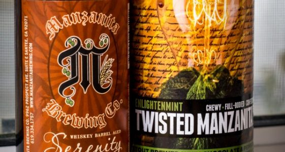 Twisted Manzanita Ales - Square