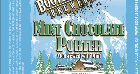 Bootlegger's Brewery - Mint Chocolate Porter