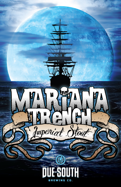Due South Brewing - Mariana Trench Imperial Stout