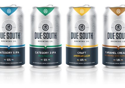 Due South Brewing Cans
