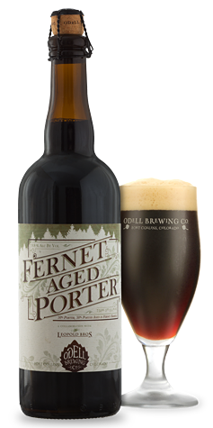 Odell Brewing / Leopold Brewing - Fernet Aged Porter
